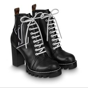 Star Trail Ankle Boots Louis Vuitton